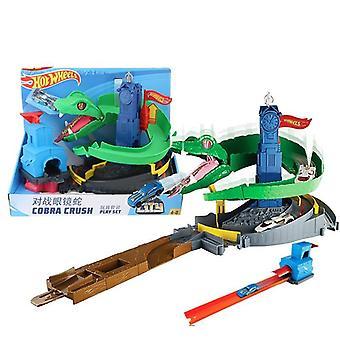Cobra Form, Rennstrecke Spielzeug Auto Wettbewerb (38 * 19 * 30cm)