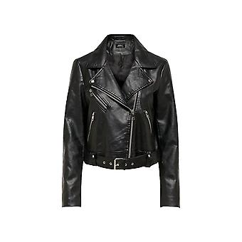 Only Women's Valerie Faux Leather Jacket