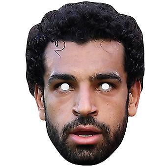 Mohamed Salah Celebrity Footballer Single 2D Card Party Face Mask