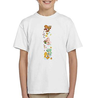 Care Bears Natale Tenderheart Orso Candy Doccia Kid's T-Shirt