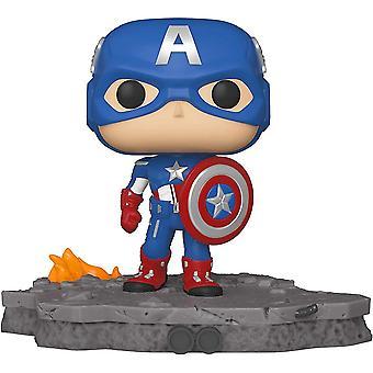 Avengers Captain America (Assemble) US Exclusive Pop! Deluxe