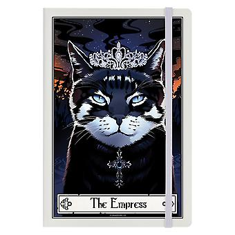 Deadly Tarot The Empress Felis A5 Notebook
