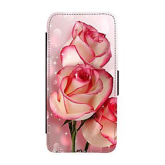 Custodia portafoglio Flower Roses iPhone 12 / iPhone 12 Pro