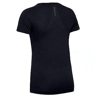 Under Armour Womens Rush Sømløs T-shirt Uddannelse Top 1351602 001