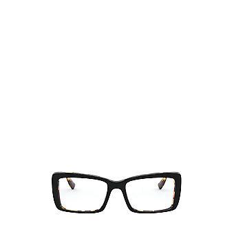 Miu Miu MU 03SV top negro / light havana gafas femeninas