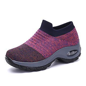 Femmes Fashion Lightweight Sneakers LightPurple