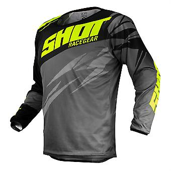 2020 Shot Devo MX Jersey Adult - Ventury Grey Neon Yellow