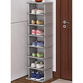 Vertical Shoe Rack/dustproof Cabinet/shelf Space-saving Conner Closet Holder