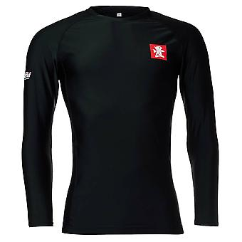 Tatami Fightwear Red Label 2.0 Long Sleeve Rash Guard Black