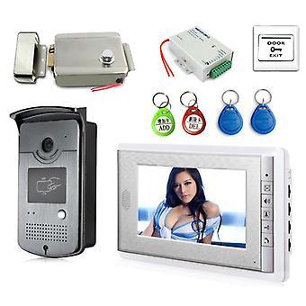 Video deur telefoon kit met id Keyfob