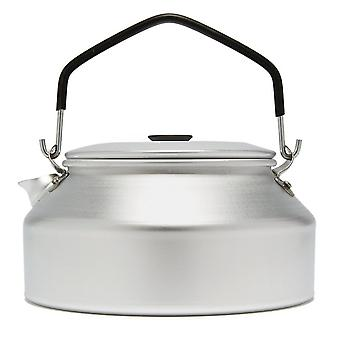 New TRANGIA 25 Series Kettle 0.9L Camping Cooking Equipment Silver