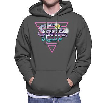 Sprite Infill Palm Trees Horizon Logo Men's Hooded Sweatshirt