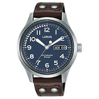 Lorus Mens | Automatic | Blue Dial | Brown Leather Strap RL463AX9 Watch
