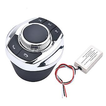 Cup Shape With Led Light 8-key Car Wireless Steering Wheel Control Button