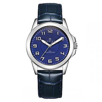 Certus 610744 - watch blå läder man