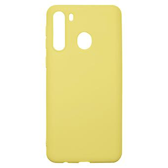 Ultra-Slim Case compatible with Samsung Galaxy A21 | In Yellow |