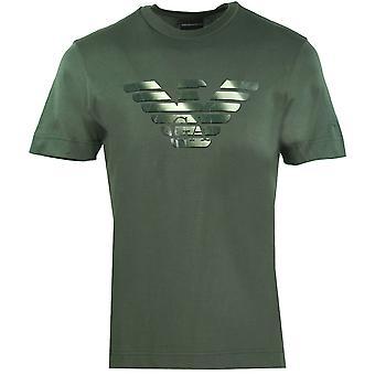 Emporio Armani GA Eagle Logo Vihreä T-paita