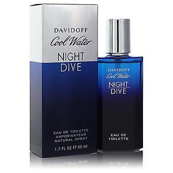 Cool water night dive eau de toilette spray by davidoff 555347 50 ml