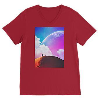 Ei aivan vielä premium v-kaula t-paita
