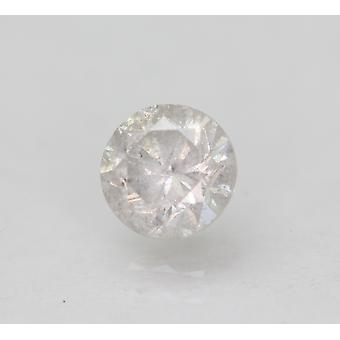 Gecertificeerd 0.57 Karaat G SI2 Ronde Briljant Verbeterde Natuurlijke Losse Diamant 5.11mm