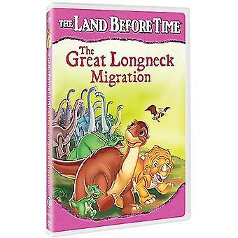 Land Before Time: Great Longneck Migration [DVD] USA import