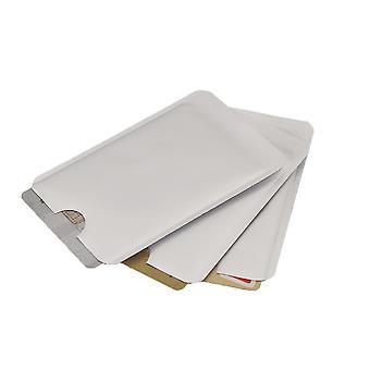 Anti Scan Rfid Sleeve Protector Credit Id Aluminum Foil Holder Sleeve