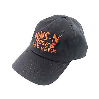 Guns N Roses Baseball Cap Was Here Band Logo nieuwe Officiële Black Unisex