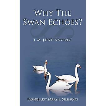Why The Swan Echoes? - I'm Just Saying by Evangelist Mary F. Simmons -
