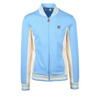 Fila Vintage Settanta Baseball Track Jacket Air Blue