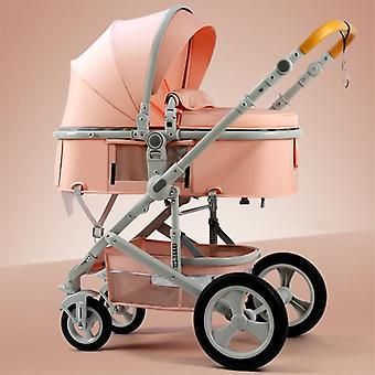 High Landscape Baby Newborn 2 In 1 Carriage Two-way Travel Trolley