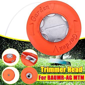 Alumiini nailonharja ruohonleikkuri, bump kela ruoho trimmeri, leikkurin pään lanka linja