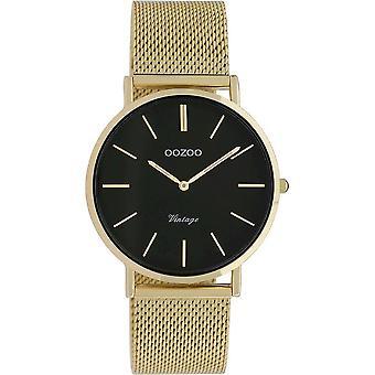 Oozoo - Women's Watch - C9914 - Gold Black