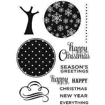 Personal Impressions Christmas Tree Clear Stamps