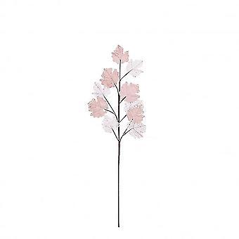 Vaaleammat lehdet 69 x 20 cm vaaleanpunaisia
