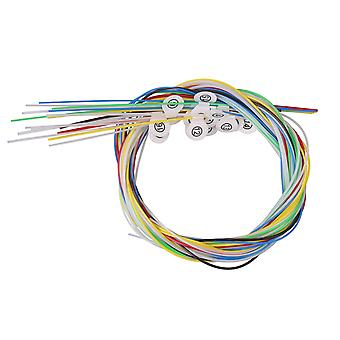16x Lyra Harp Nylon Strings pour accessoires de remplacement de lyre à 16 cordes