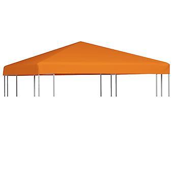 vidaXL pavilion roof 310 g/m2 3x3 m orange