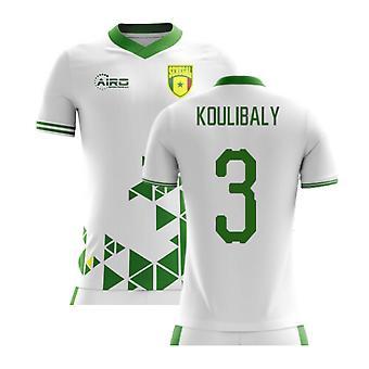 2020-2021 السنغال مفهوم الوطن لكرة القدم قميص (كوليبالي 3) - أطفال