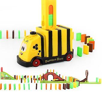 Zug Spielzeug Domino Kunststoff klassische montierte Spielzeug