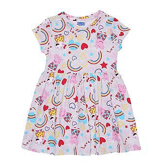 Peppa Gris Piger Rainbow Dress