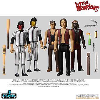 The Warriors (5 Points) Mezco Action Figures
