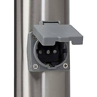 Brilliant 43693/82 Chorus Udendørs fritstående lys Energibesparende pære E-27 10 W Rustfrit stål
