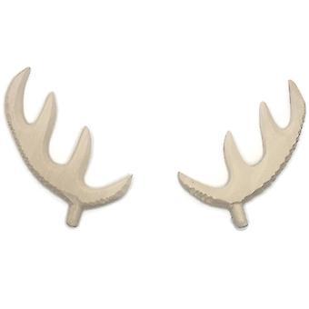 Käkikello puiset peuran sarvet keskeneräiset, 65mm, 80mm, 120mm