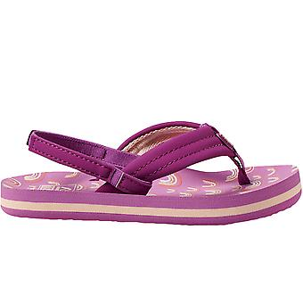 Reef Kids Infants Little AHI Summer Holiday Sandals Flip Flops - Purple