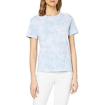 Marc O'Polo 4211151419 T-Shirt, Bleu (Sky Breeze 826), X-Small Femme