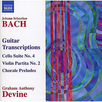 J.S. Bach - Bach: Guitar Transcriptions [CD] USA import