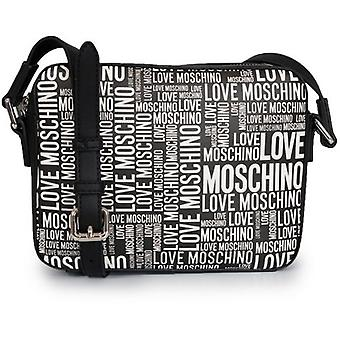 Love Moschino All Over Logo Camera Bag