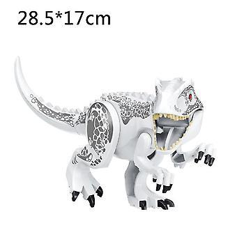 Jurassic Dinosaur World Series Building Blocks Triceratops Indominus Rex Big Figures| Blocos
