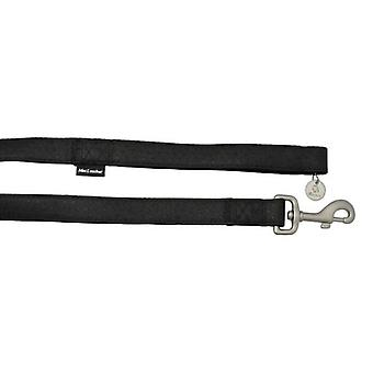 Nayeco Black Macleather Strap (Dogs , Collars, Leads and Harnesses , Leads)