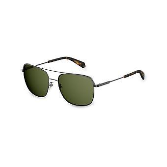 Polaroid - Akcesoria - Okulary przeciwsłoneczne - PLD2056S-KJ1 - Unisex - srebrny,zielony