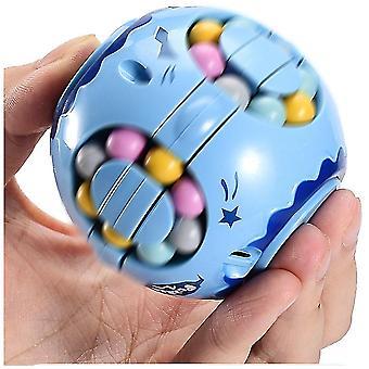 2kpl vihreän sormen taikapapuhampurilaisen rubikin kuutio, lasten älykkyys gyro sormenpään pyöritys, paineenalennuskuutio az22557